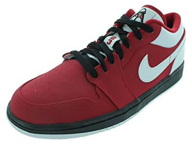brand new c0fab d0409 Image Unavailable. Image not available for. Color  Nike Men s AIR Jordan 1  Low Basketball Shoes ...