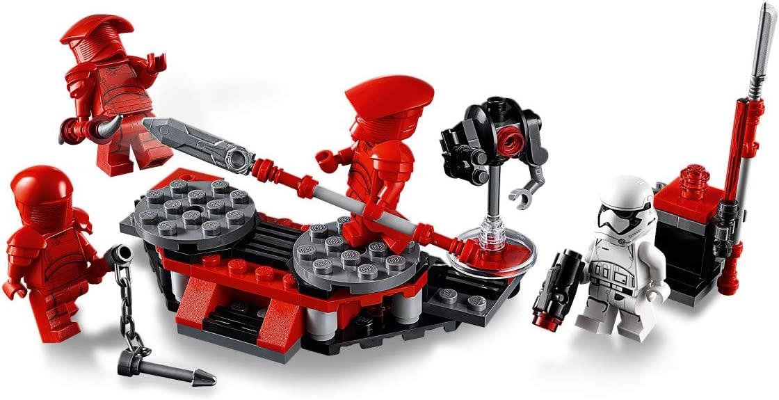 LEGO Star Wars 75225 The Last Jedi Elite Praetorian Guard Battle ...
