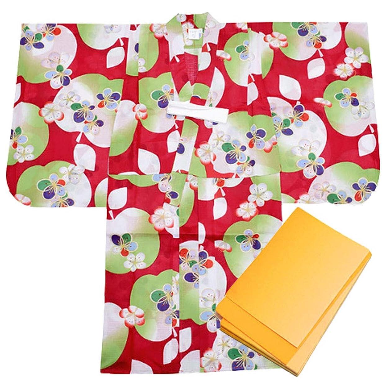 広大な立方体安価な浴衣 子供 セット キッズ ベビー ドレス サンドレス セパレート 花柄 帯セット Pinky Flash 桜紫 80cm 3357090607PU80