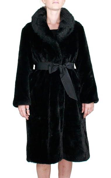 Kocca Cappotto Donna in Pelliccia Ecologica Orbit Colore Nero Collezione   Autunno-Inverno 2018 19 (M)  Amazon.it  Abbigliamento 857b9ad9bfa
