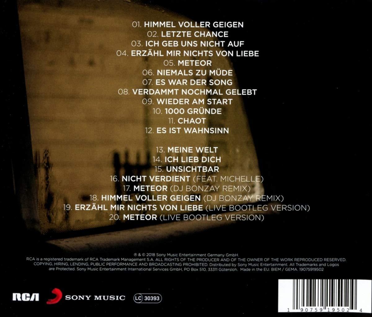 Meteor Bonus Hits Version Inkl 8 Neuen Songs Live Versionen Und