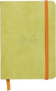 Rhodiarama Dot 4X6 inch Black Notebook