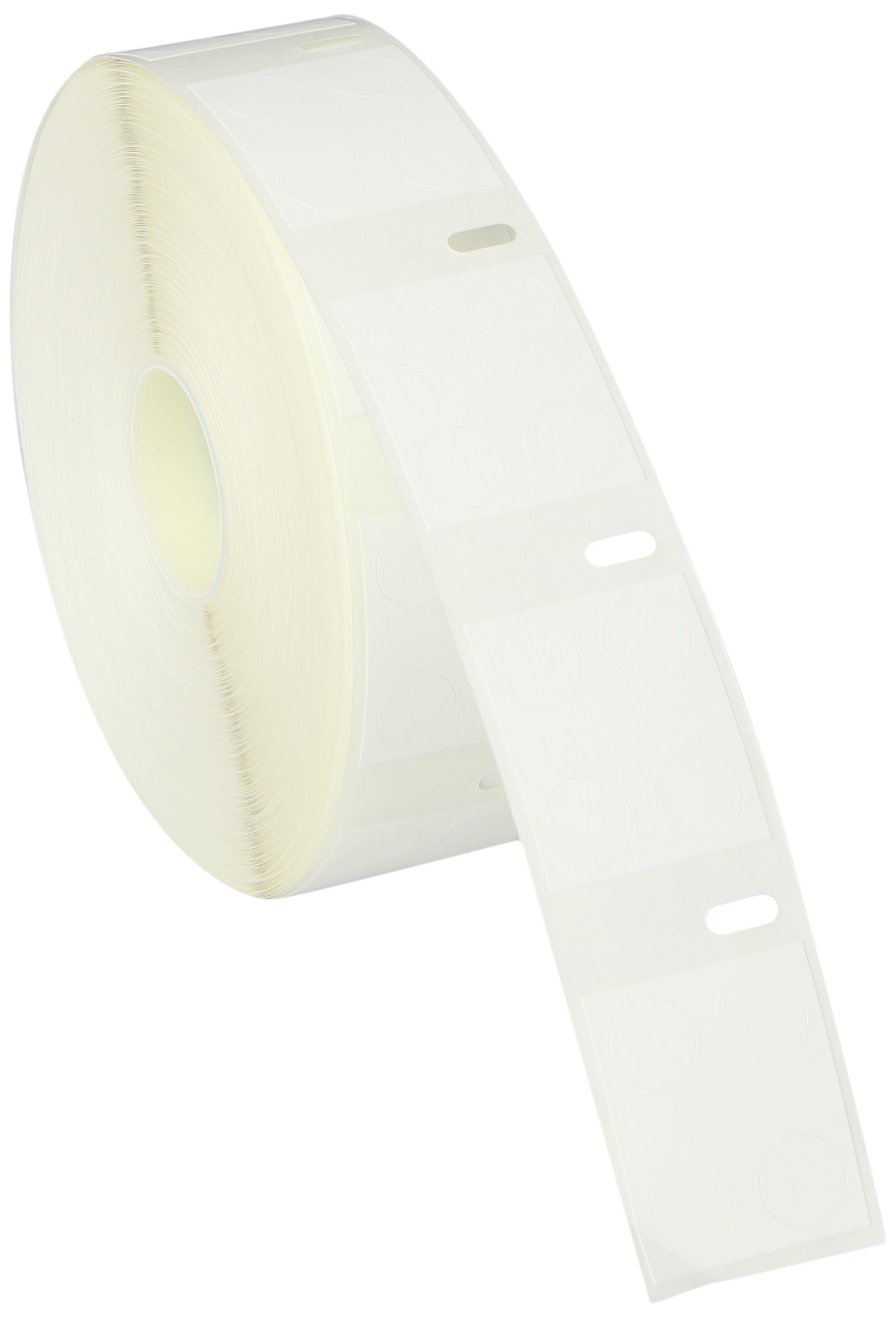 Diversified Biotech DTCR-4000 Direct Thermal Cryo-Tags Label, 3/8'' Diameter (Roll of 1000)