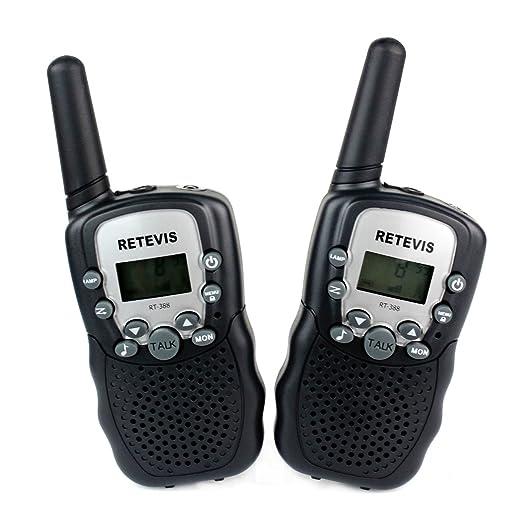 181 opinioni per Retevis RT-388 Walkie Talkie Ricetrasmettitore 8 Canali VOX Ricetrasmittente per