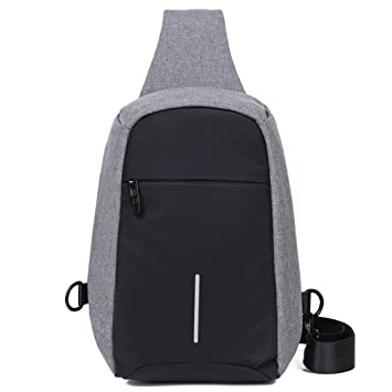 4736e339a8d8 EGOGO Men Anti Theft Sling Bag Chest Pack Shoulder Backpack Bags Travel Cross  Body Bag E526-1