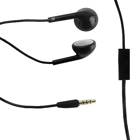 Genuino ZTE Negro 3.5mm Auriculares estéreo de auriculares con micrófono Plazas para ZTE Blade S6