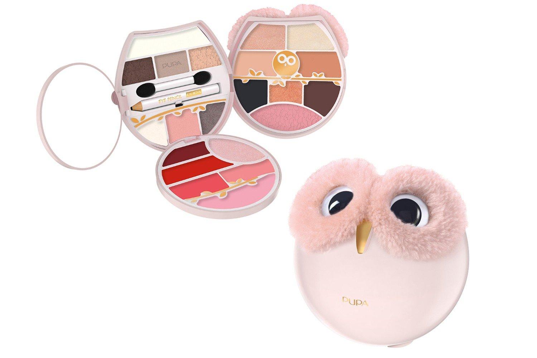 Pupa - Owl 4 - 001 - Estuche de maquillaje en forma de búho ...