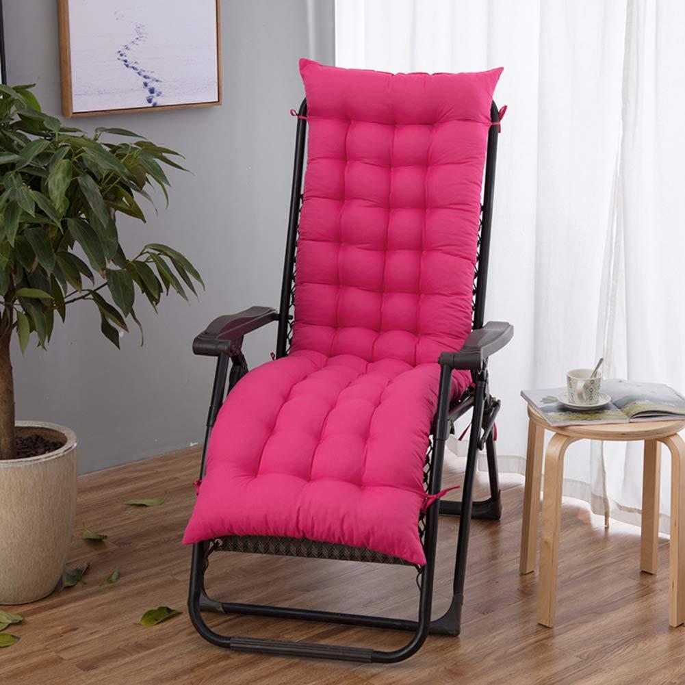 ZGYQGOO Lounge Chaise Kissen, Terrasse Liegestuhl Kissen, Sonnenliege Matratze für Garten Outdoor Indoor Sofa Tatami Autositz Bank (nur Kissen) -b 155x48cm (61x19inch)