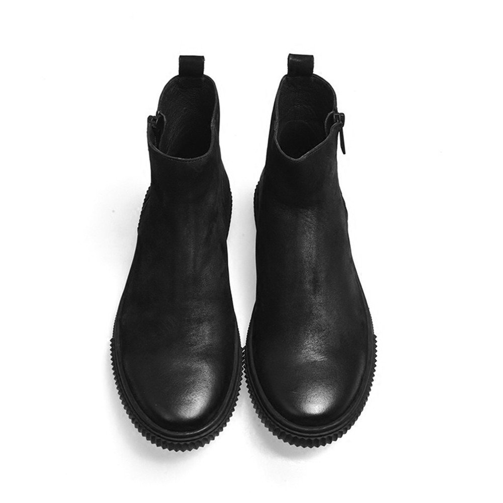 Männer - casual mode stiefel stiefel stiefel martin männlichen lederschuhe retro,schwarz,40