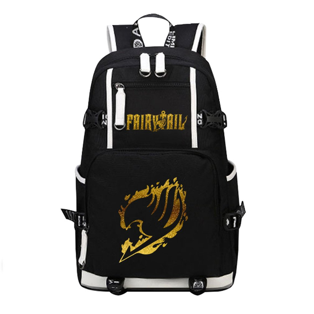 YOYOSHome Luminous Anime Fairy Tail Cosplay Daypack Bookbag Laptop Bag Backpack School Bag (3)