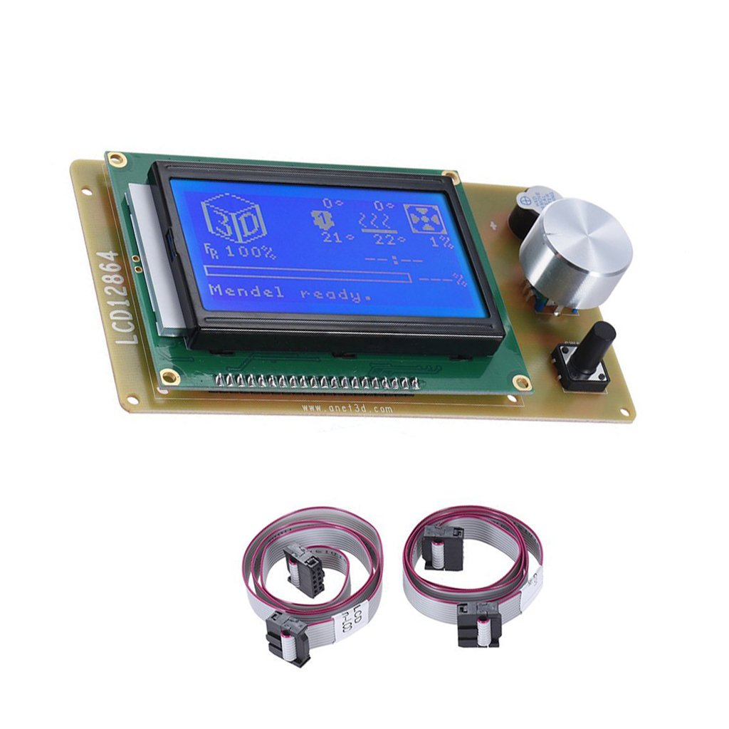 MagiDeal LCD 12864 Smart Display Controller Adapter For RAMPS 1.4 RepRap 3D Printer 0755022370044ESA