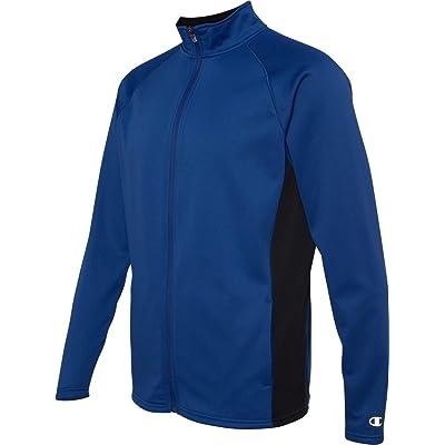 Champion 5.4 Oz. Performance Colorblock Full-Zip Jacket