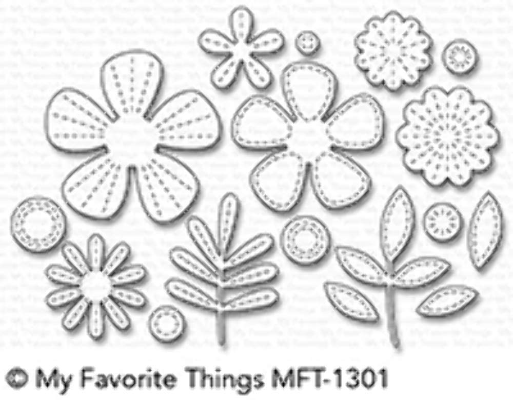 My Favorite Things Die-namics, Stitched Blooms