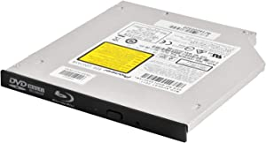 SilverStone Technology 9.5/12.7mm Slim Blu-Ray/DVD/CD Read and Write Tray-Loading Optical Disk (SST-TOB04)