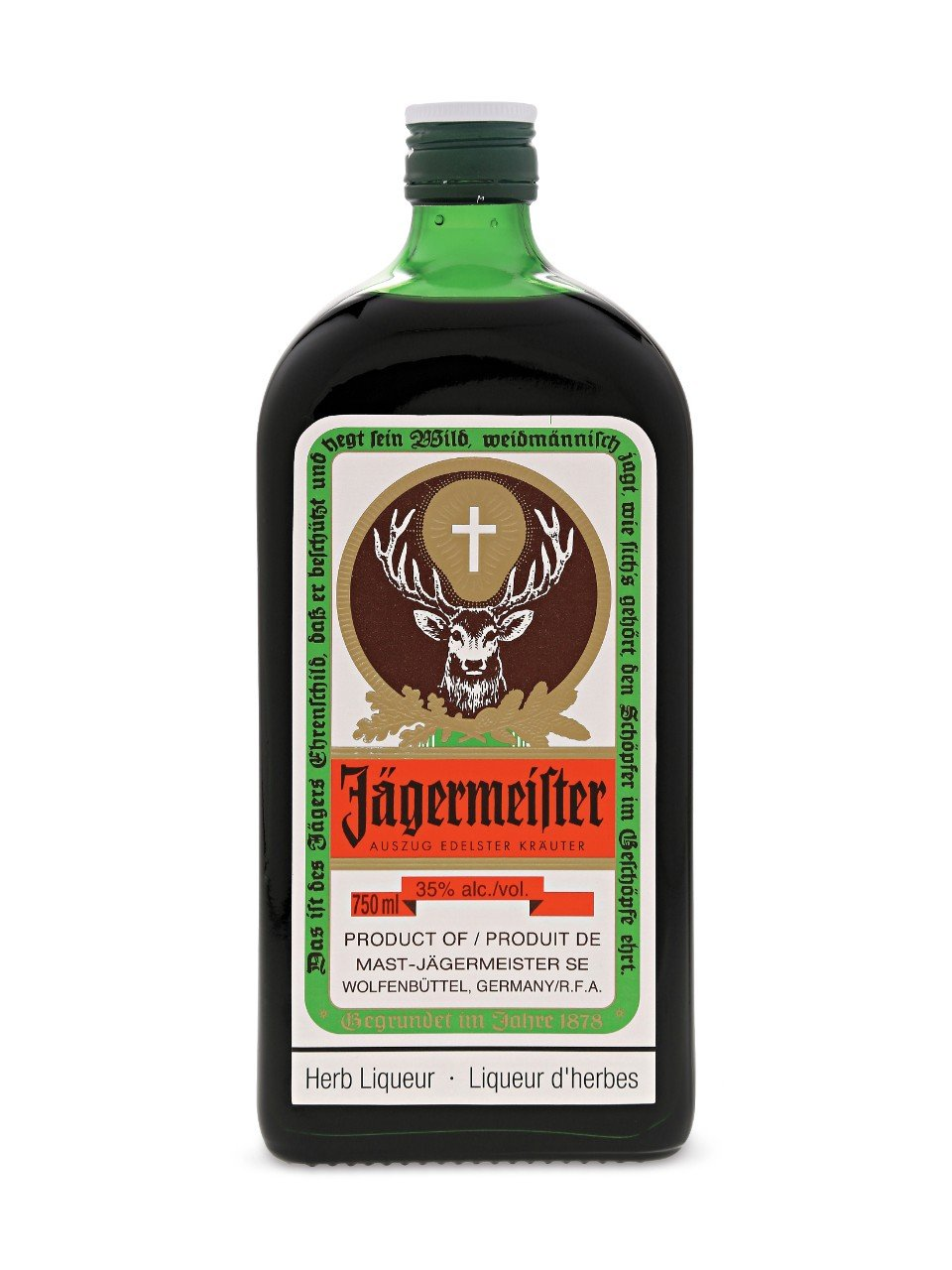 Jagermeister Liqueur, 750 ml, 70 Proof: Amazon.com: Grocery ...