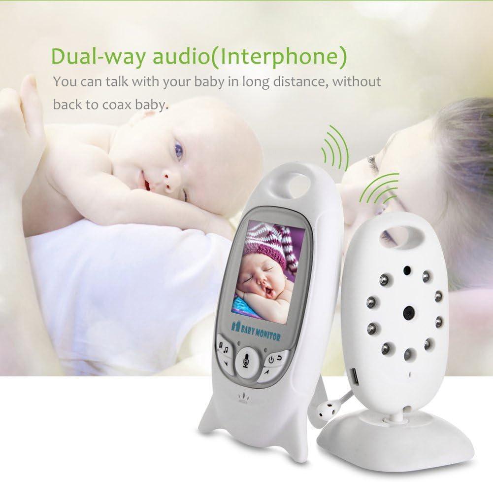 COSANSYS Babypflege Digital Babyphone mit Kamera Farbe Video Monitor Nachtsicht