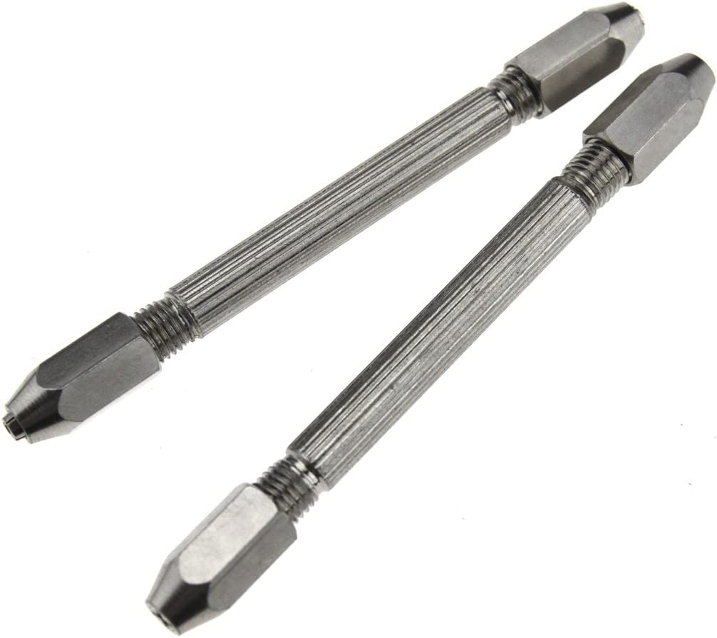 hexagonal pin vise 4 sized collets