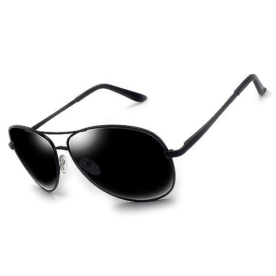 96cbff5879 Moda gafas de sol polarizadas para hombres mujeres/Metal Aviator conducción  pesca gafas de sol