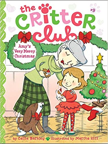 Very Merry Christmas.Amazon Com Amy S Very Merry Christmas 9 The Critter Club