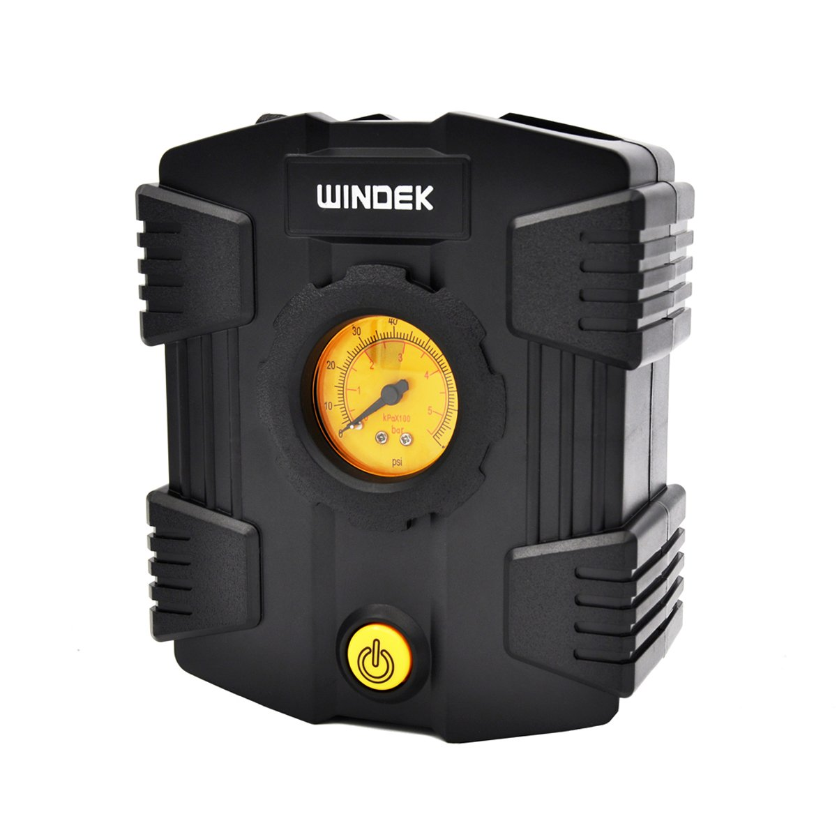Amazon.com: Windek D06B 80PSI 12V Mini Tire Inflator/Air Compressor with Pressure Gauge and Adaptor Set: Automotive