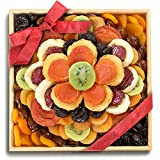 gift basket dried fruit - Golden State Fruit Sweet Bloom Dried Fruit Deluxe Basket