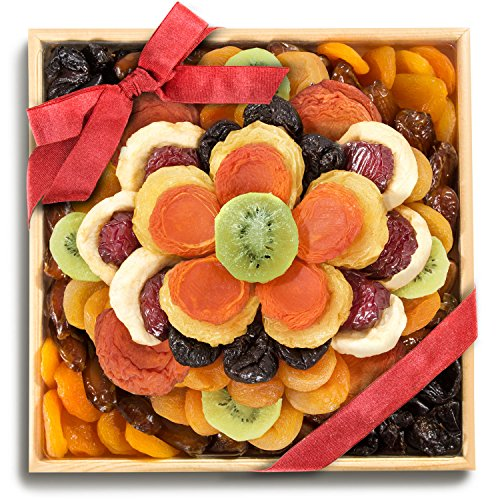 Golden State Fruit Sweet Bloom Dried Fruit Deluxe Basket (Beautiful Fruit Baskets)