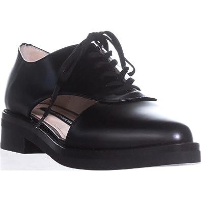 eb9193caa3d77 Amazon.com | French Connection Mazin Women's Flats & Oxfords Black ...