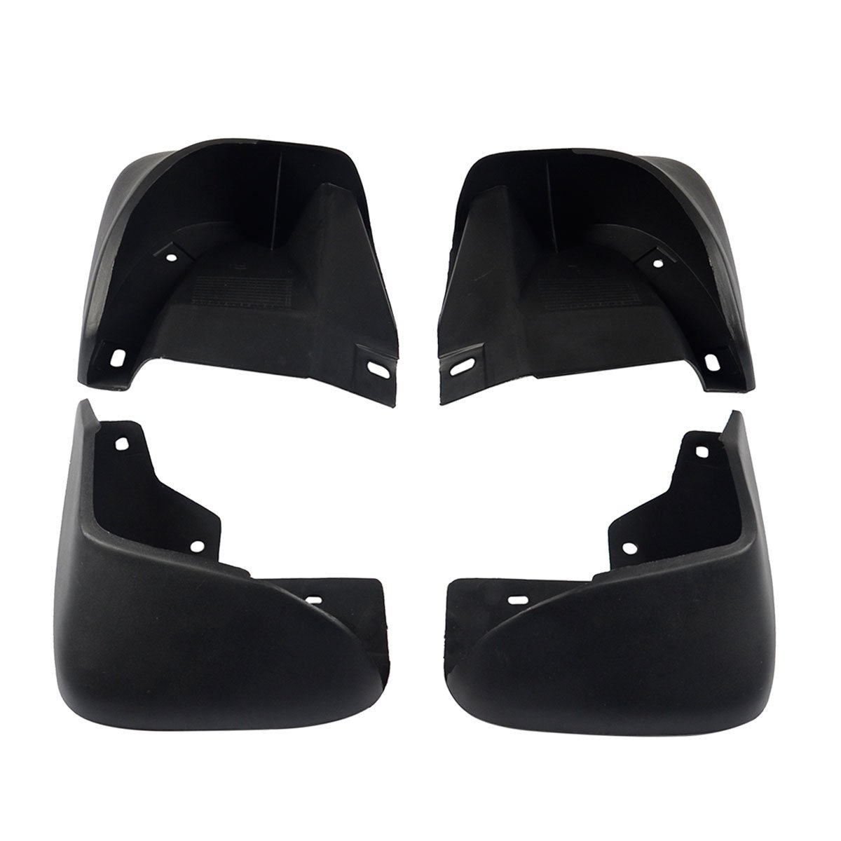 A-Premium Splash Guard Mud Flaps Mudflaps for Honda Accord 1998-2002 Front and Rear 4-PC Set