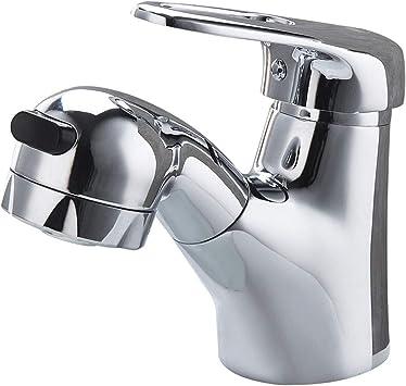 shuilongtou Grifo de agua caliente y fría columna de agua de ducha ...