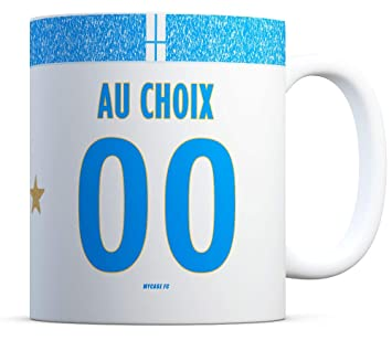 Marseille Mug Personnalisable Fabriqué En Football France Tasse OTXZuiPk