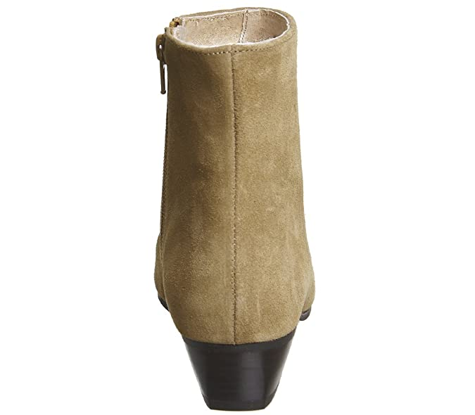 35eceddde425 Office Andalucia- Casual Low Heel Boot Tan Suede - 7 UK  Amazon.co.uk   Shoes   Bags