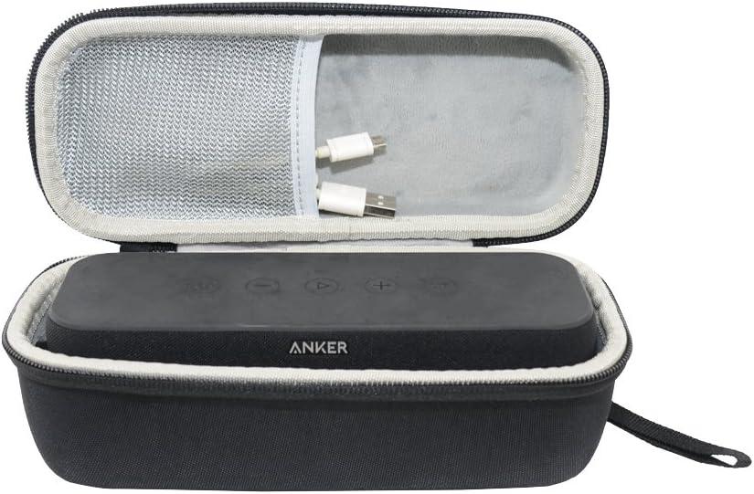 Sanvsen Hart Reise Case Tasche Für Anker Soundcore Pro 25 W Bluetooth Lautsprecher