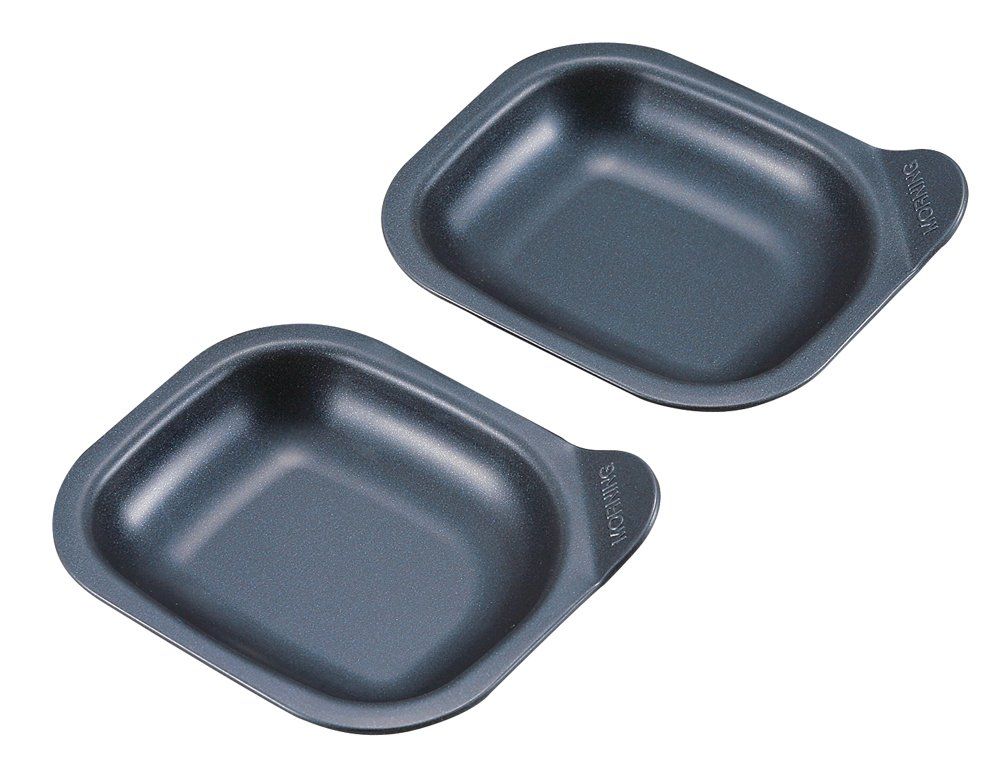Pearl metal Blue-black coat morning coat plate (Class two pieces) H-5453 Japan used like new