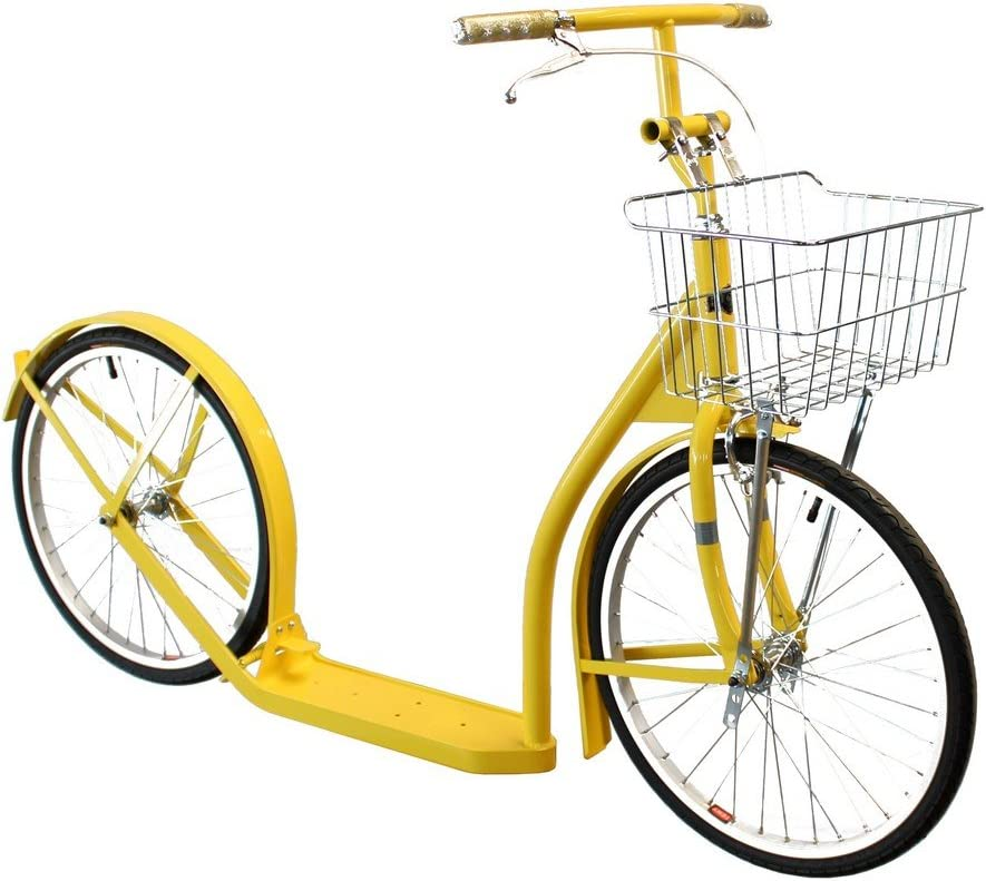 Youth//Adult Size 20 Wheel Amish-Made Deluxe Kick Scooter Bike