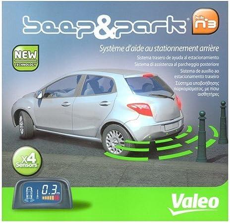 Fits Dacia 2016 Rear 4 Point Reversing Parking Sensor Kit Buzzer Ultrasonic