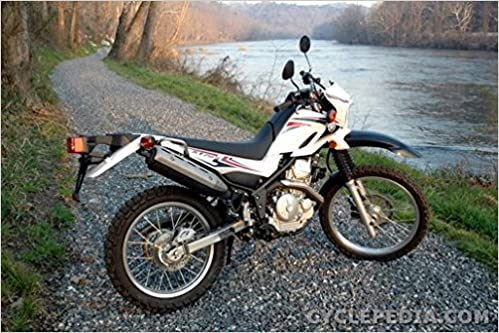 CPP-184 2008-2012 Yamaha XT250 Motorcycle Online Service ... on