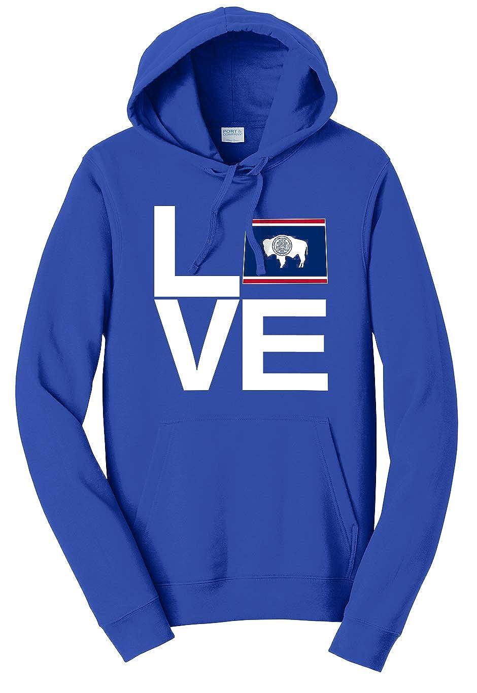 Tenacitee Unisex Love Wyoming Sweatshirt
