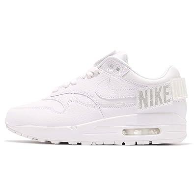 Nike Womens Air Max 1 100 Leather Detachable Logos Fashion Sneakers