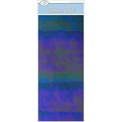 Iris Elizabeth Craft Designs Mylar Shimmer Sheetz 5x 12 cm Colore
