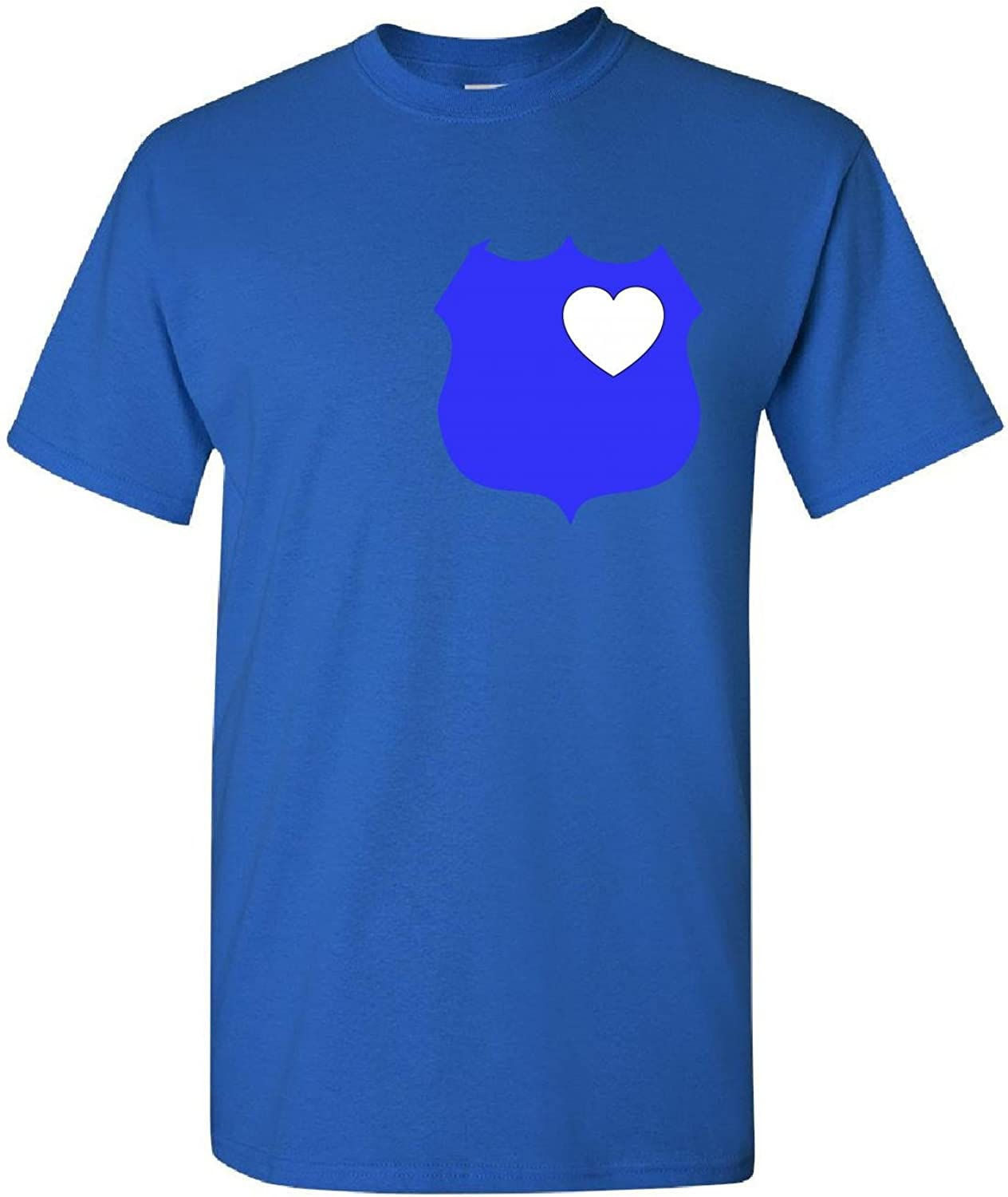 Shadow Of The Badge Police Officer Support Law Enforcement-Kids T Shirt