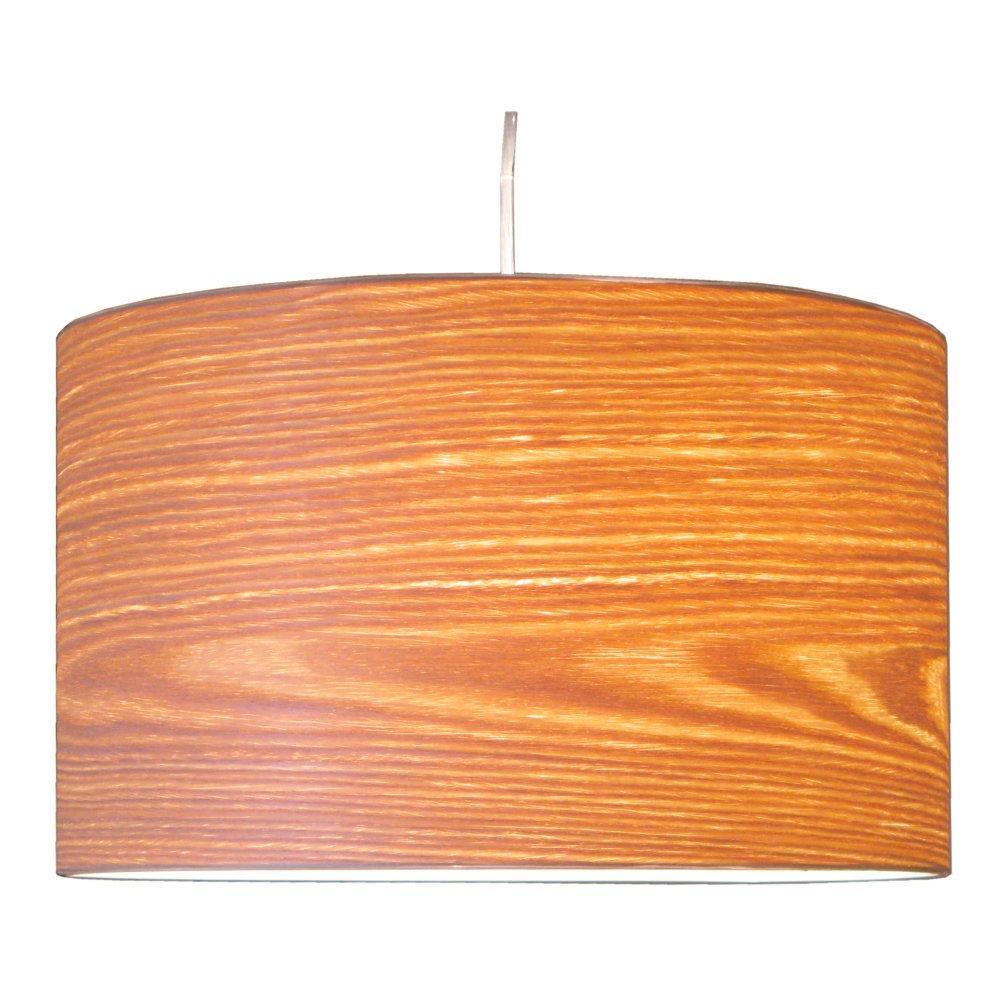 Woody en bois véritable placage (Saule) Abat-jour pour table, de sur pied et de lampes suspendues H: 22cm D:36cm De Heid Hof