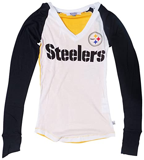 reputable site 2efc6 84999 Amazon.com : Pittsburgh Steelers Womens Team Pride Long ...