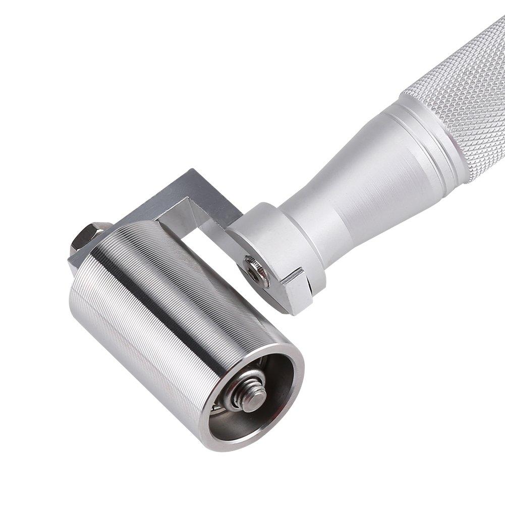 40 mm de acero inoxidable Wallpaper Seam Roller Tool presi/ón plana DIY placa mano rodillo herramienta de pintura