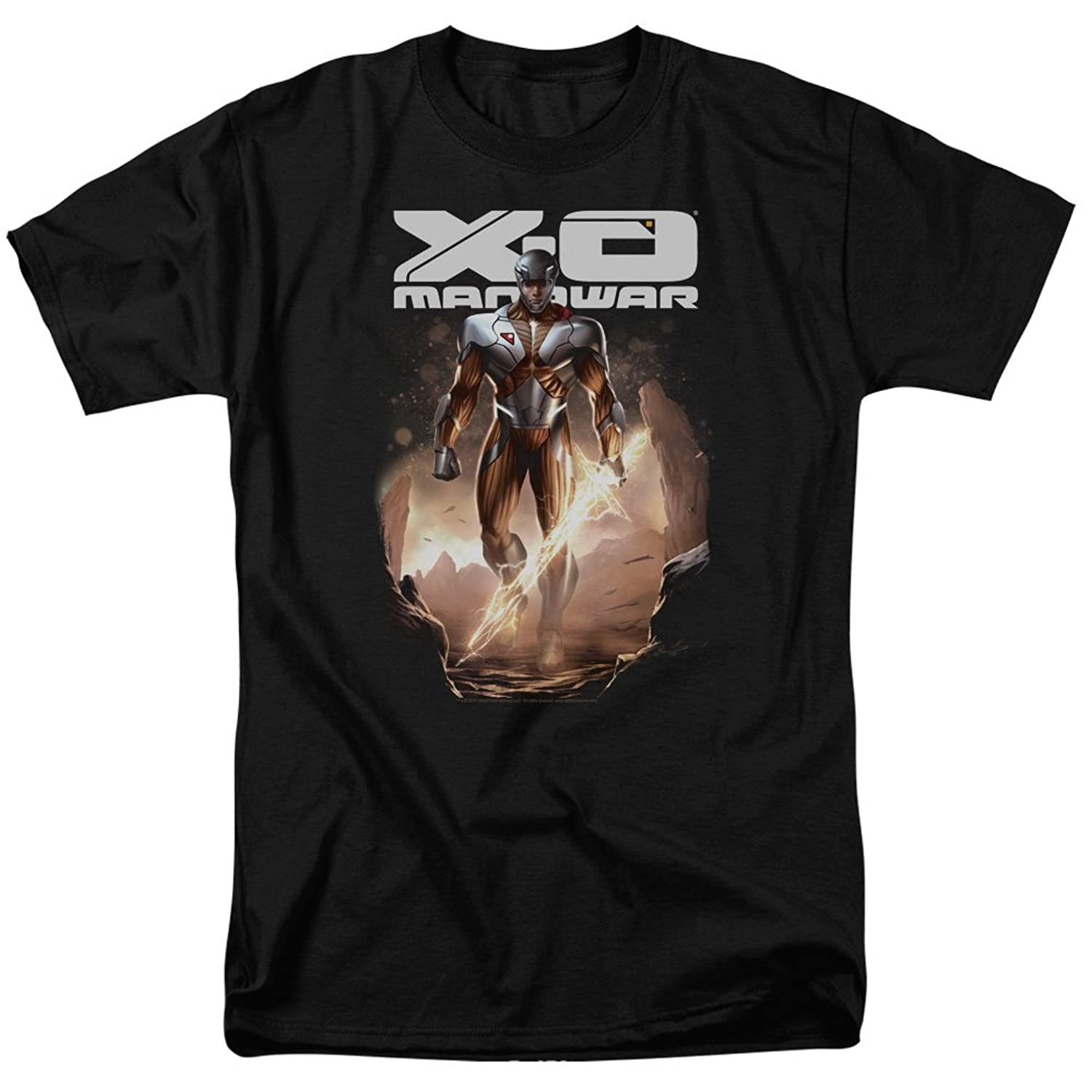 Xo Manowar - Mens Lightning Sword T-Shirt
