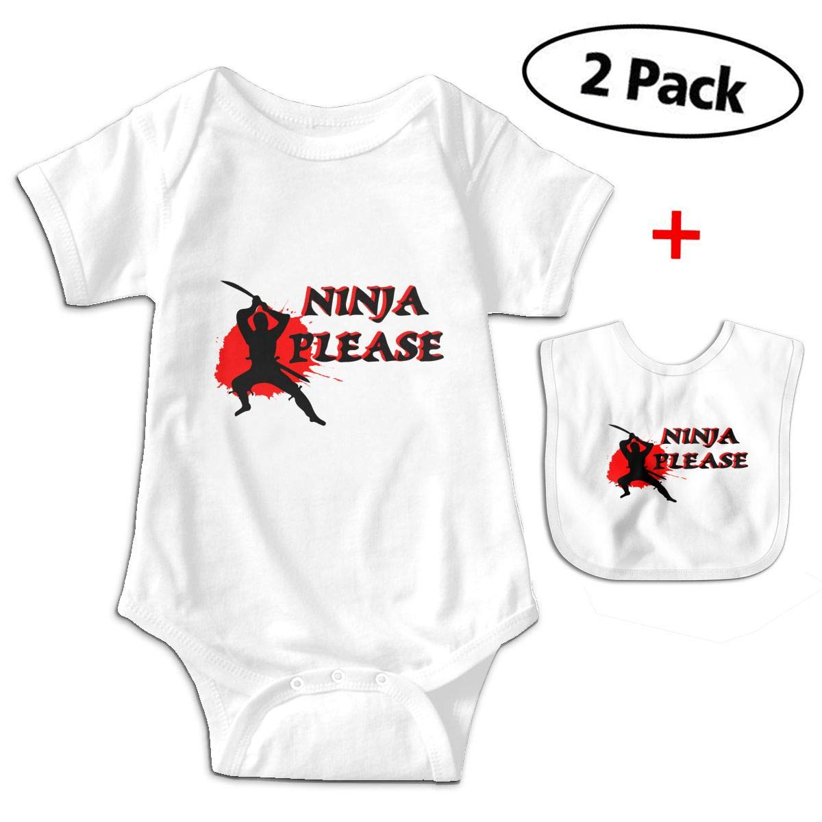 Amazon.com: Japan Ninja Sport Funny Infant Romper Jumpsuit ...