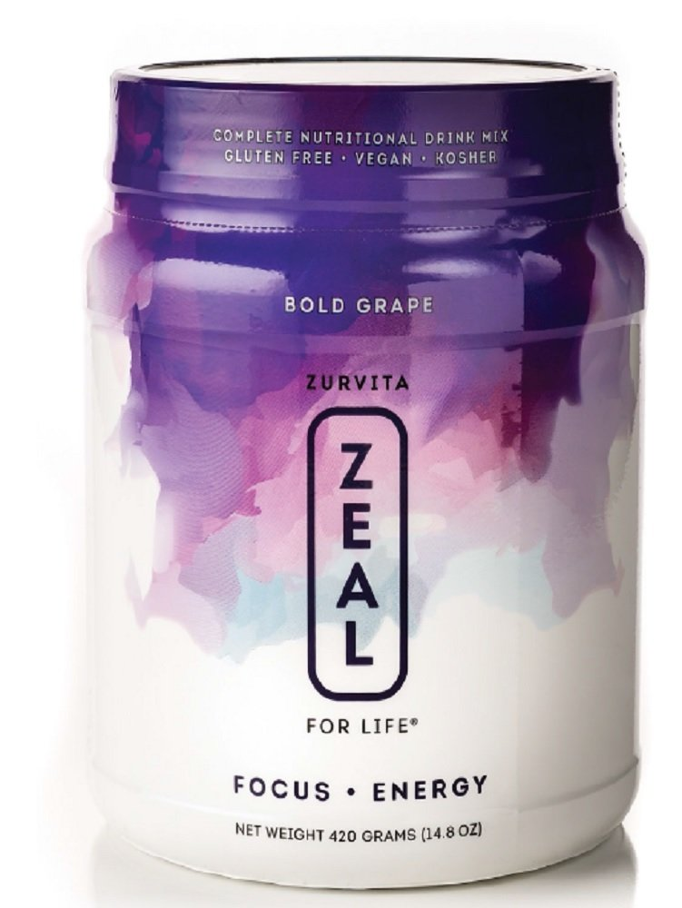 New Zeal for Life Bold Grape Wellness 30 Days, 420g