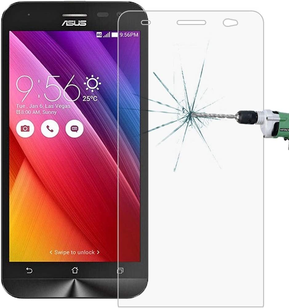ZE500KL 0.26mm 9H Surface Hardness 2.5D Explosion-Proof Tempered Glass Film No Retail Package LGYD for 50 PCS for Asus Zenfone 2 Laser