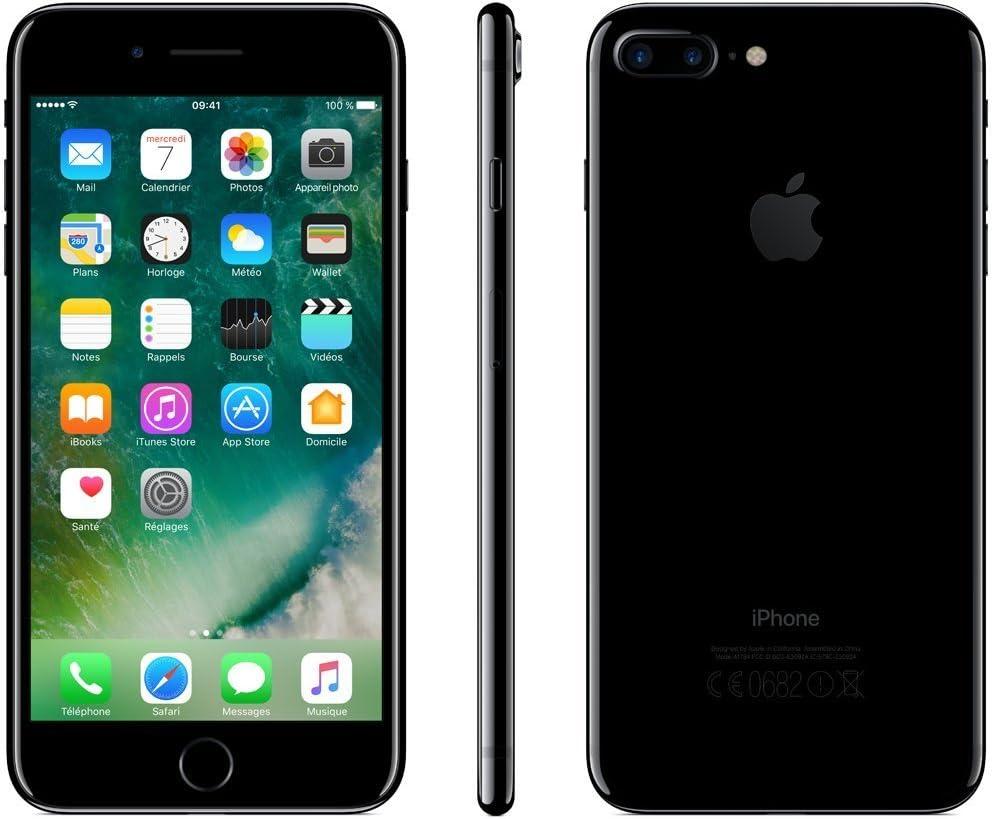 Apple iPhone 7 Plus 128Go Noir de jais (Reconditionné)