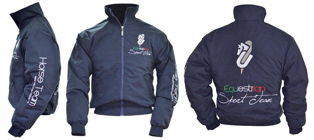 """Umbria Equitazione Bomber Invernale Umbria Modello /""""Sport Team/"""""""