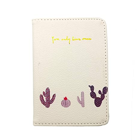 Amazon.com: Chris.W - Funda protectora para pasaporte, para ...